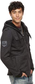 Rock & Republic Men's Military Sherpa Hoodie