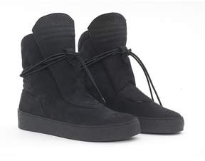 Ylati Giove High Black Nabuk