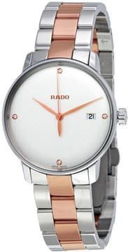 Rado Coupole Classic White Dial Diamond Men's Watch