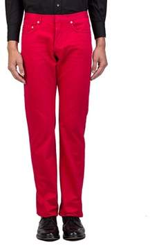 Christian Dior Men's Straight Fit Jeans Pants Red.