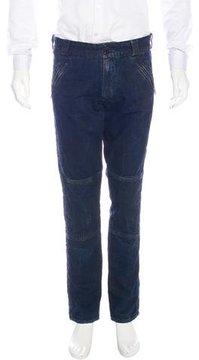 Ralph Lauren Black Label Distressed Skinny Jeans