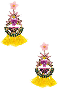 Elizabeth Cole Petite Watermelon Statement Earrings
