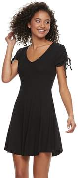 Love, Fire Love Fire Juniors' Ribbed Swing Dress
