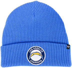 '47 Los Angeles Chargers Ice Block Cuff Knit Hat