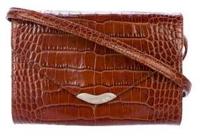 Ralph Lauren Crocodile Crossbody Bag