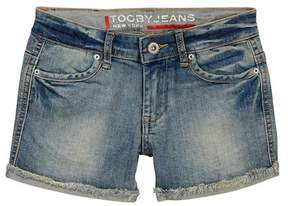 Toobydoo Jean Shorts (Toddler, Little Girls, & Big Girls)