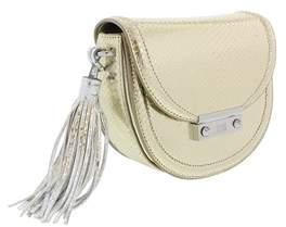 Roberto Cavalli Small Shoulder Bag Linda 001 Light Gold Shoulder Bag.