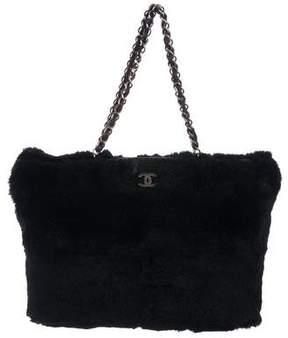 Chanel CC Fur Shopper