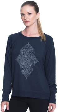 Gaiam Women's Calla Graphic Long Sleeve Top