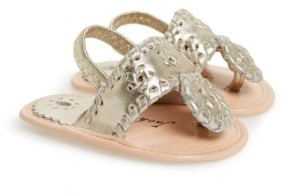 Jack Rogers Infant Girl's 'Jack' Sandal