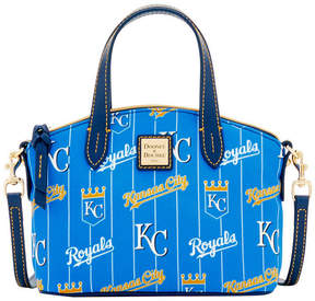 Dooney & Bourke Kansas City Royals Nylon Mini Crossbody Satchel - BLUE/NAVY - STYLE