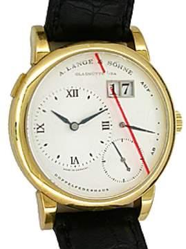 A. Lange & Söhne Lange 1 18K Yellow Gold Mens Strap Watch