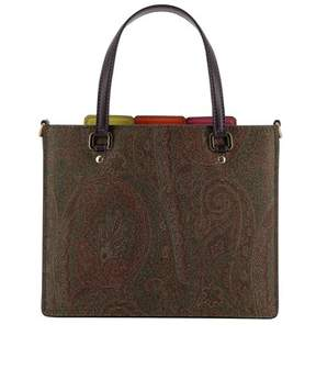 Etro Women's Multicolor Leather Shoulder Bag.