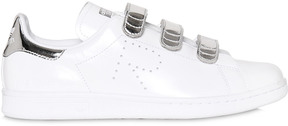 Adidas By Raf Simons Stan Smith Metallic & Leather Sneakers