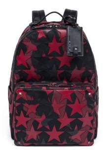 Valentino Star Leather Backpack