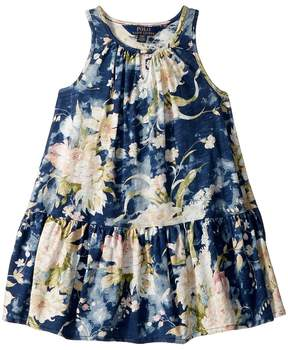 Polo Ralph Lauren Floral Cotton Jersey Dress Girl's Dress