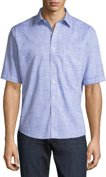 Neiman Marcus Classic-Fit Non-Iron Wear It Out Floral Sport Shirt