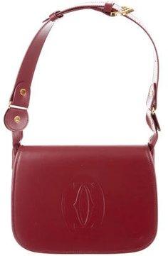 Cartier Smooth Leather Shoulder Bag