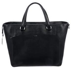Tumi Leather Tote Bag
