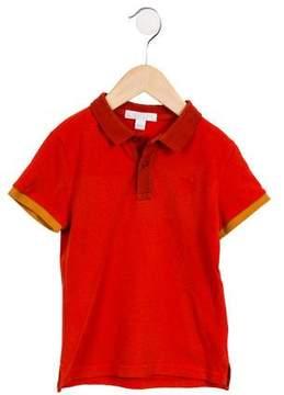 Burberry Boys' Collared Short Sleeve Shirt