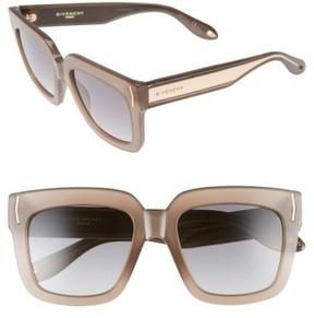 Women's Givenchy 53Mm Sunglasses - Mud Beige/ Grey