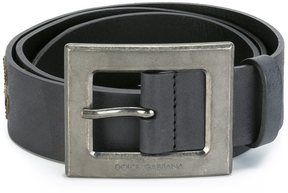 Dolce & Gabbana Sicilian man patch belt