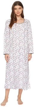Eileen West Flannel Ballet Nightgown Women's Pajama