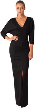 Black Halo Tilly Gown