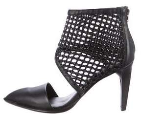 AllSaints Pointed-Toe Cage Pumps