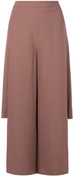 Chalayan side-split gaucho trousers