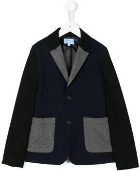 Lanvin Enfant colourblock blazer