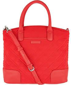 Vera Bradley Microfiber Day Off Satchel Handbag - ONE COLOR - STYLE