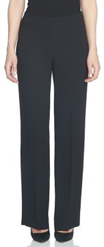 CeCe Women's Crepe Straight Leg Pants