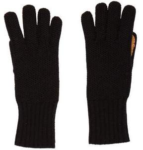 Barneys New York Barney's New York Cashmere Suede Gloves