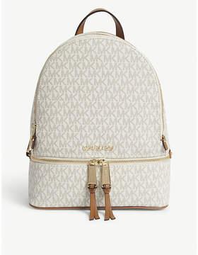 MICHAEL Michael Kors Rhea medium leather backpack - VANILLA - STYLE