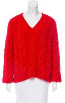 Mansur Gavriel 2017 Oversize Mohair Sweater