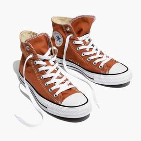 Madewell Converse® Unisex Chuck Taylor All Star High-Top Sneakers in Ochre