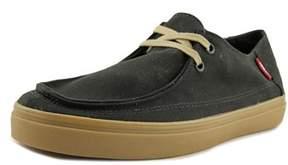 Vans Rata Vulc Sf Men Round Toe Canvas Black Sneakers.