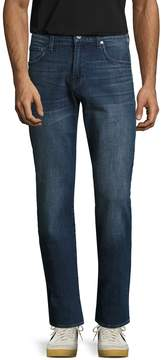 7 For All Mankind Men's Carsen High Rise Straight Jeans