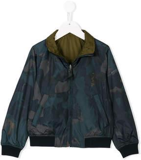 Woolrich Kids reversible jacket