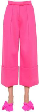 DELPOZO Folded Double Jersey Pants