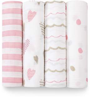 Aden Anais Aden & Anais Heart Breaker Swaddle Set