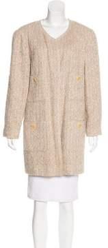 Chanel Collarless Bouclé Jacket