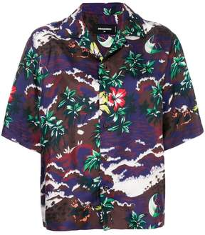 DSQUARED2 Hawaiian print shirt