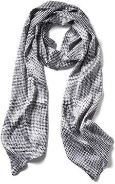 Banana Republic Texture Printed Oblong Scarf