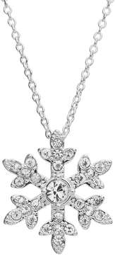 Disney Disney's Frozen Crystal Snowflake Pendant Necklace