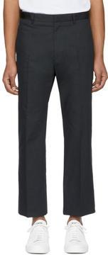 Jil Sander Black Norman Trousers