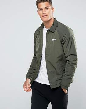 Hollister Coach Jacket in Olive