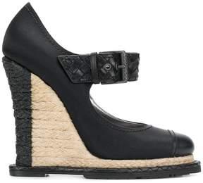 Bottega Veneta wedge heel pumps