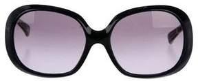 Emilio Pucci Tinted Round Sunglasses